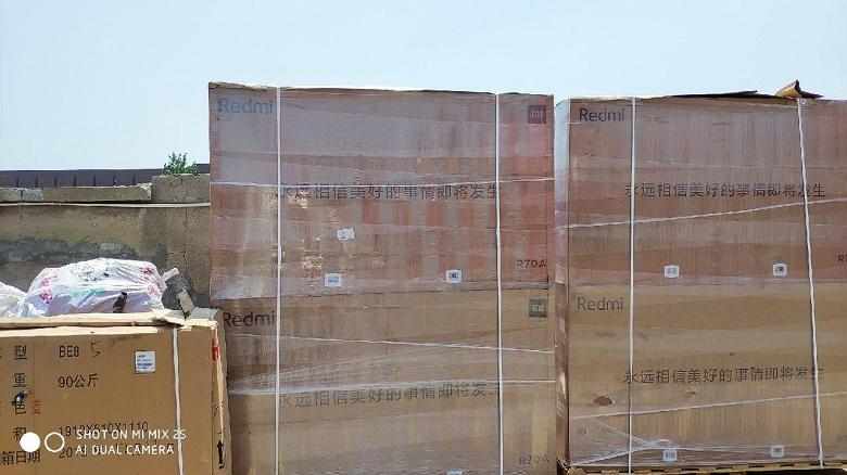 Телевизоры Redmi уже отгружаются с завода
