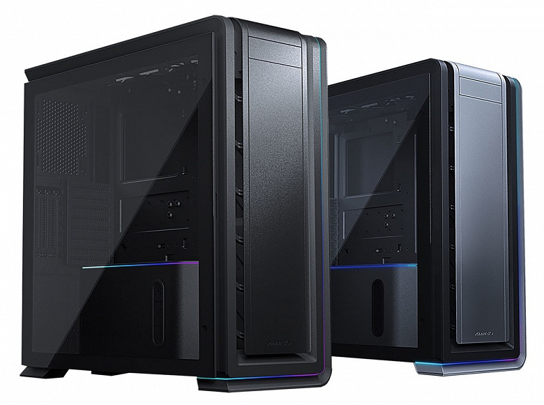 В корпусе Phanteks Enthoo Luxe 2 помещаются две системы и 12 накопителей
