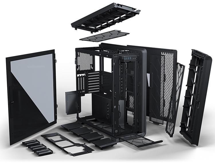 Phanteks Enthoo Luxe 2: две системы в одном компьютерном корпусе