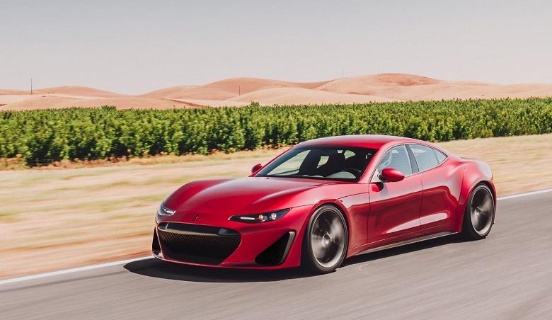 Электрический суперкар Draco GTE получит четыре мотора суммарной мощностью 1200 л.с.