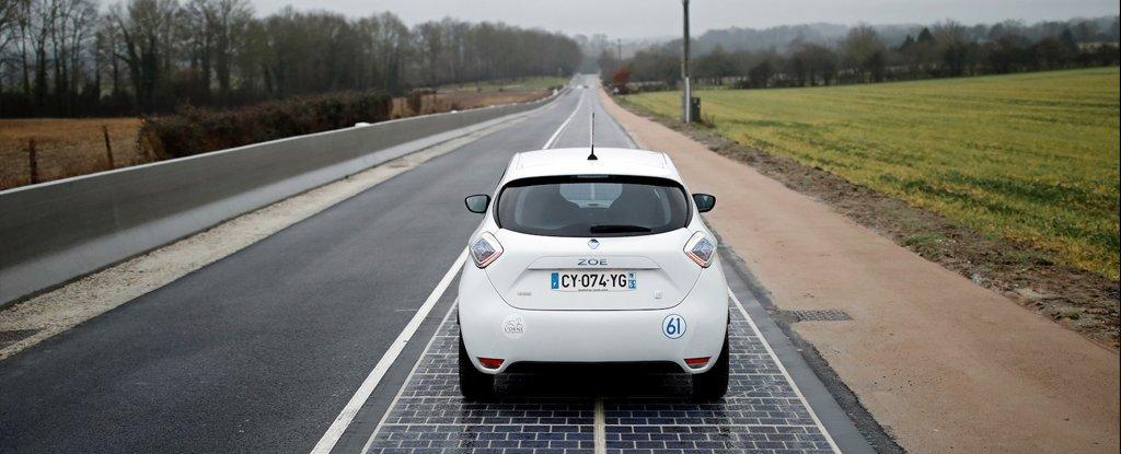 Первая в мире автодорога с покрытием из фотоэлементов признана «абсолютным провалом» - 1