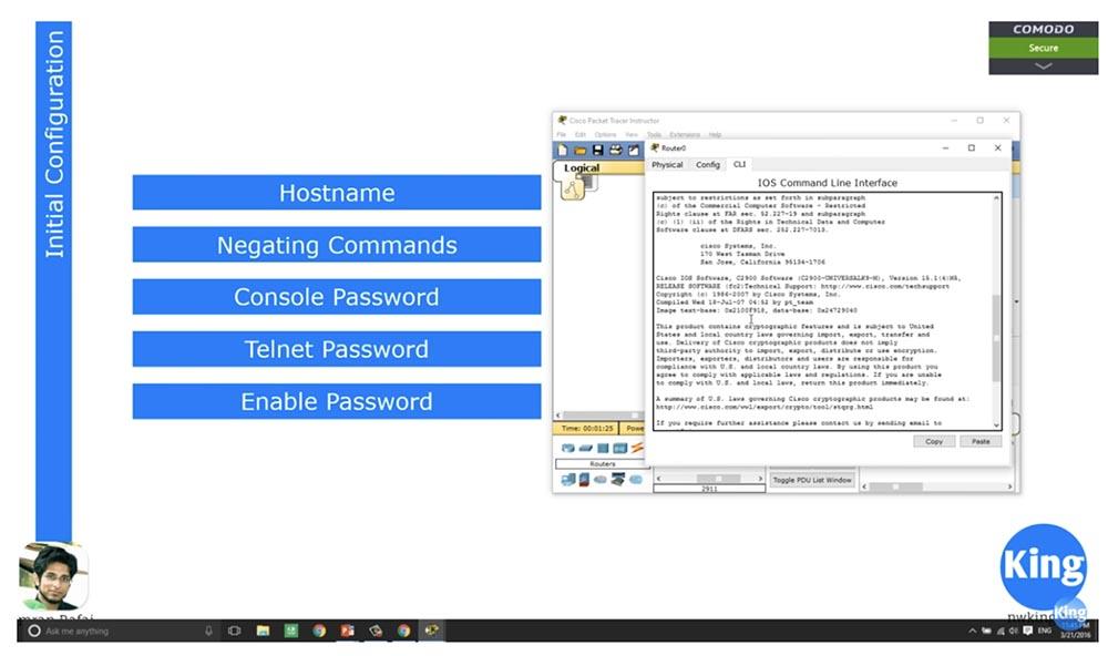 Тренинг Cisco 200-125 CCNA v3.0. День 19. Начало работы с роутерами - 2