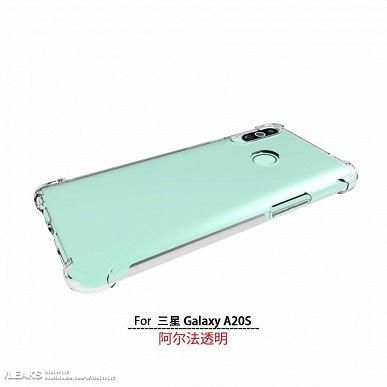 Тройная камера и мятный цвет: опубликованы рендеры бюджетного смартфона Samsung Galaxy A20s