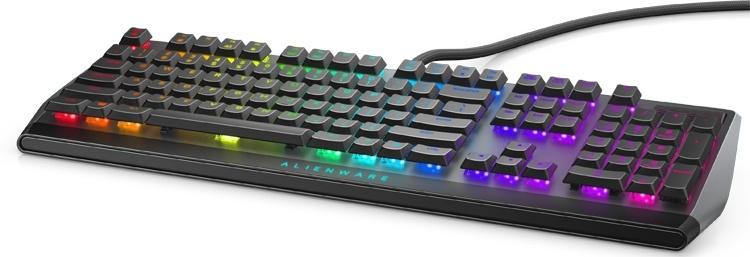 Alienware AW510K: низкопрофильная механическая клавиатура с RGB-подсветкой