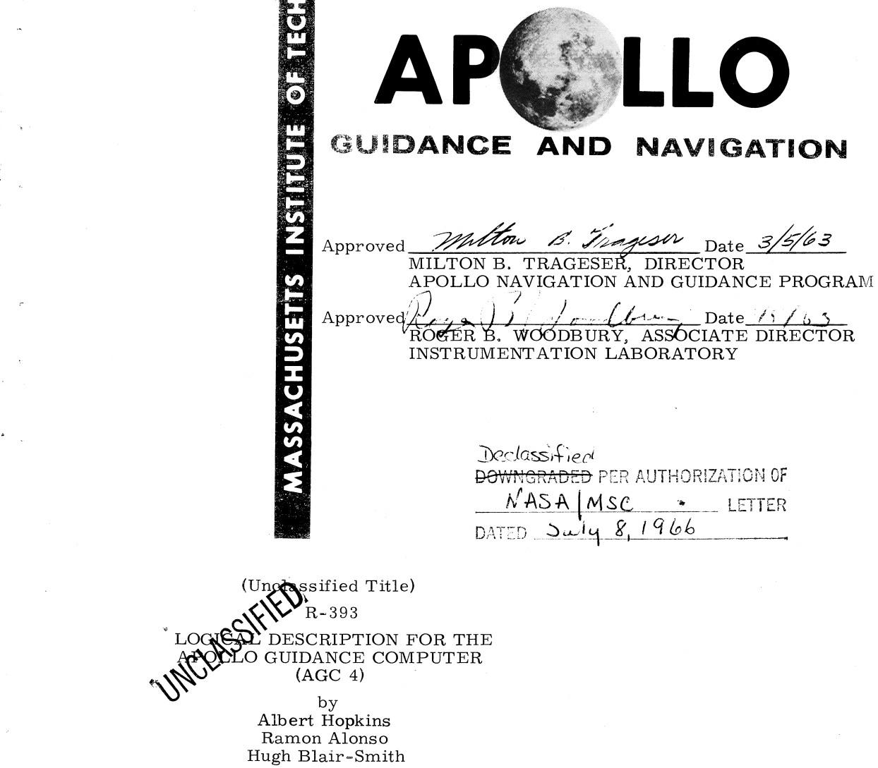 Apollo Guidance Computer — архитектура и системное ПО. Часть 2 - 1