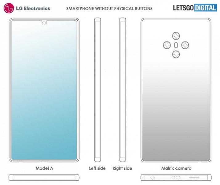 LG готовит смартфон без кнопок