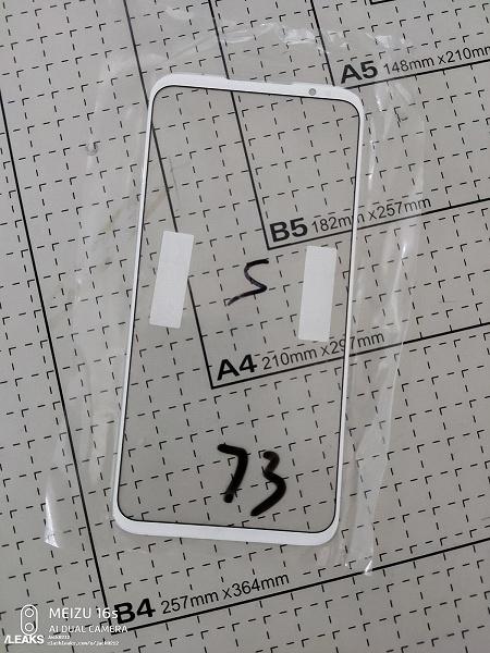 Фронтальная часть Meizu 16s Pro показалась на живом фото