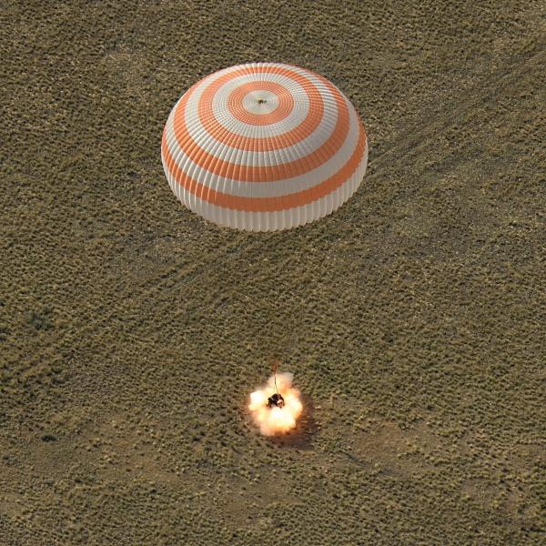 Космические сверхзвуковые парашюты - 5