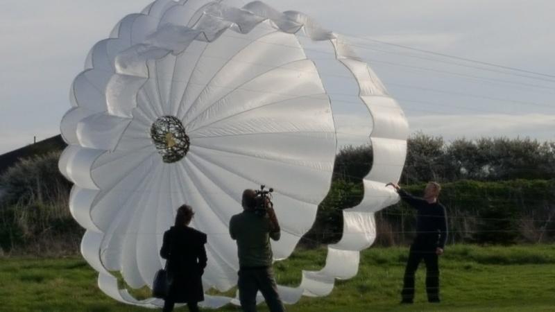 Космические сверхзвуковые парашюты - 6