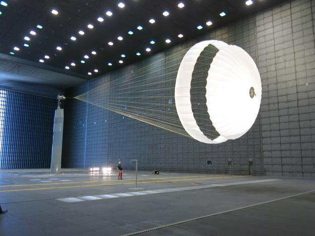 Космические сверхзвуковые парашюты - 7