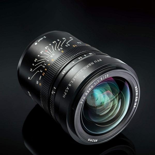 Начались продажи объектива Viltrox PFU RBMH 20mm f/1.8 ASPH с креплением Nikon Z
