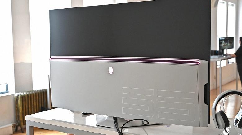 Огромный игровой монитор Alienware 55 OLED Gaming Monitor оценили в... 4000 долларов