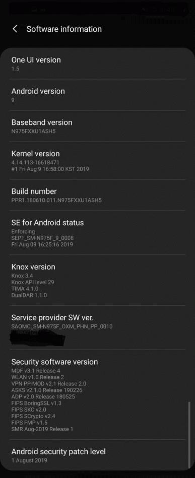 Первое крупное обновление. Samsung Galaxy Note10 и Note10+ получили многочисленные улучшения