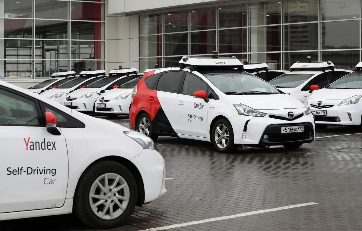 «Яндекс» запустит до 1000 беспилотных машин за два года - 1