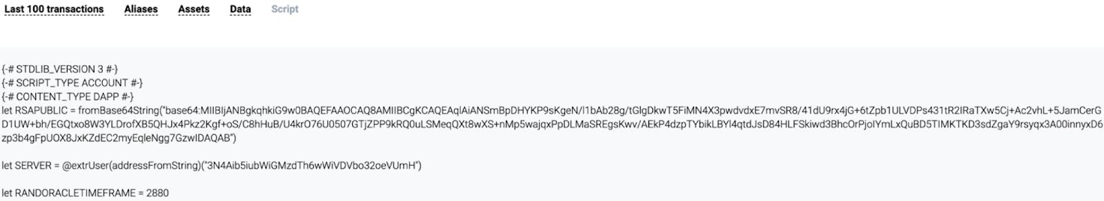 Blockchain RSA-based random - 3