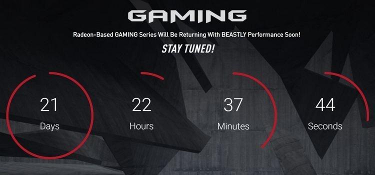 MSI готовит производительную видеокарту Radeon RX 5700 XT Gaming