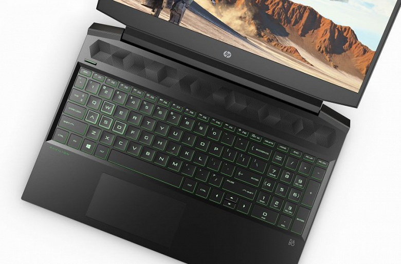 Новый игровой ноутбук HP Pavilion Gaming Laptop предлагает процессоры AMD и видеокарты Nvidia