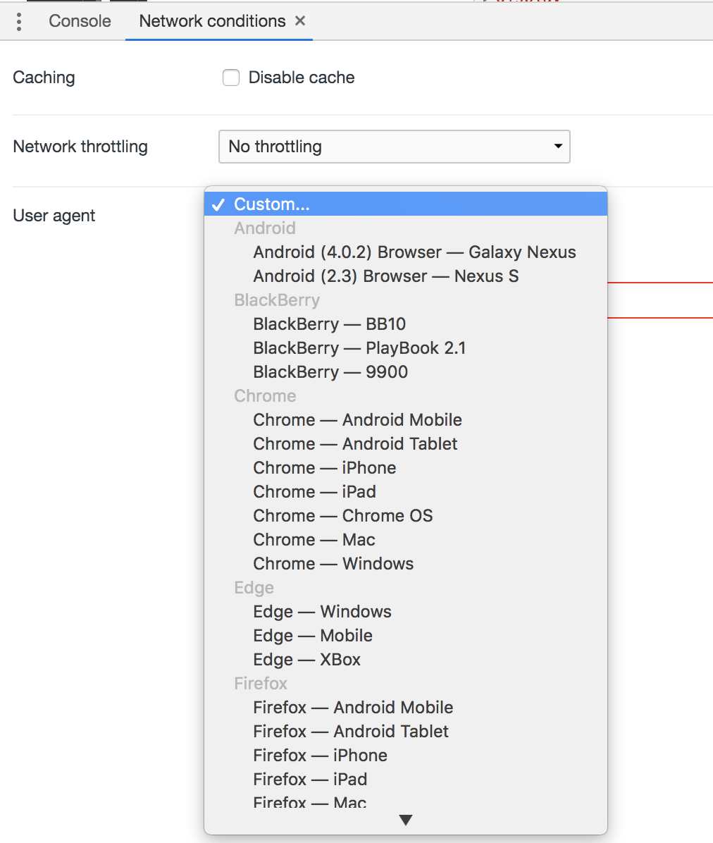 Особенности тестирования Mobile Web приложений - 5