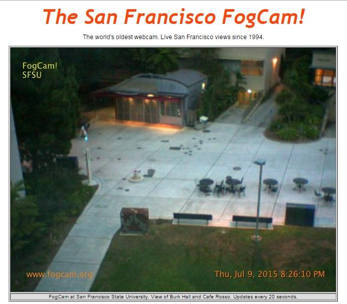 Самую старую в мире работающую веб-камеру FogCam (г. Сан-Франциско, США) отключат в конце августа после 25 лет работы - 8
