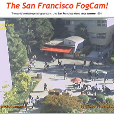 Самую старую в мире работающую веб-камеру FogCam (г. Сан-Франциско, США) отключат в конце августа после 25 лет работы - 9