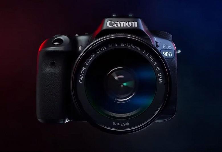 Утечка дает представление о камере Canon EOS 90D
