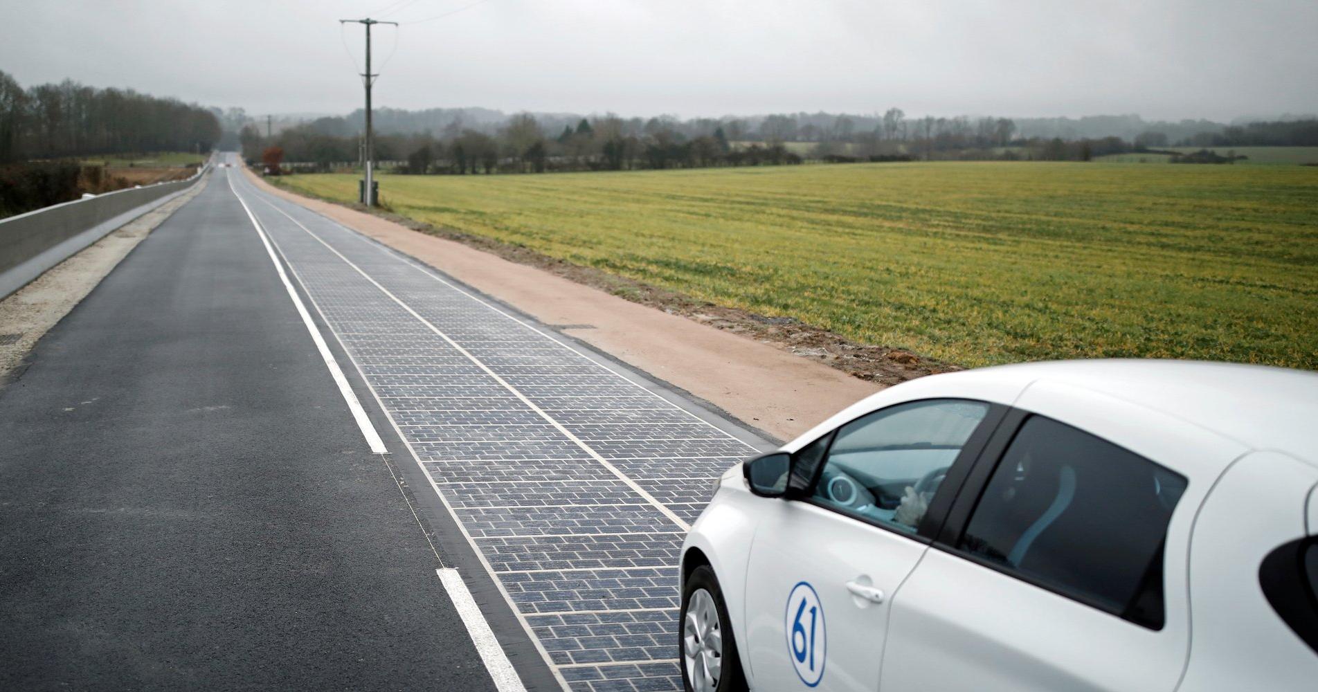 Дорогу из солнечных батарей признали провальным проектом