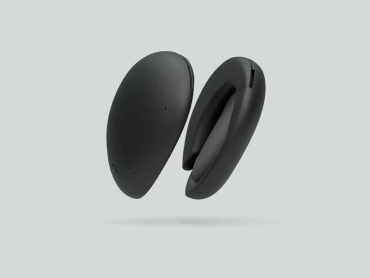 Футуристические беспроводные наушники Human превращаются в портативный Bluetooth-динамик