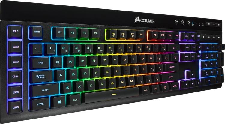 Клавиатура Corsair K57 RGB может подключаться к ПК тремя способами