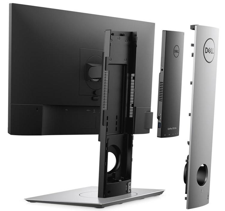 Компьютер «всё в одном» Dell OptiPlex 7070 Ultra получил модульную конструкцию