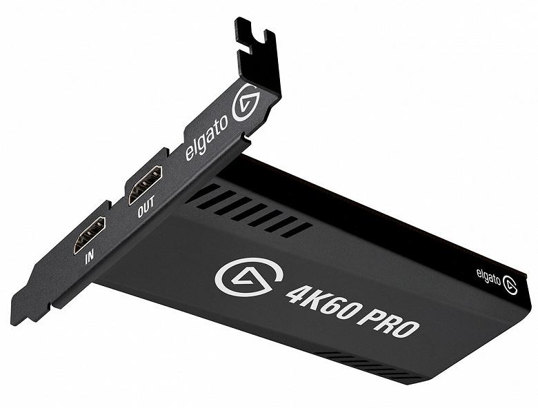 Начались продажи карты захвата изображения Elgato 4K60 Pro MK.2, поддерживающей 4K и HDR10