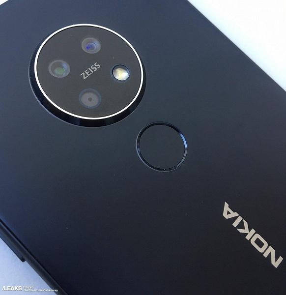 Первая фотография Nokia 7.2