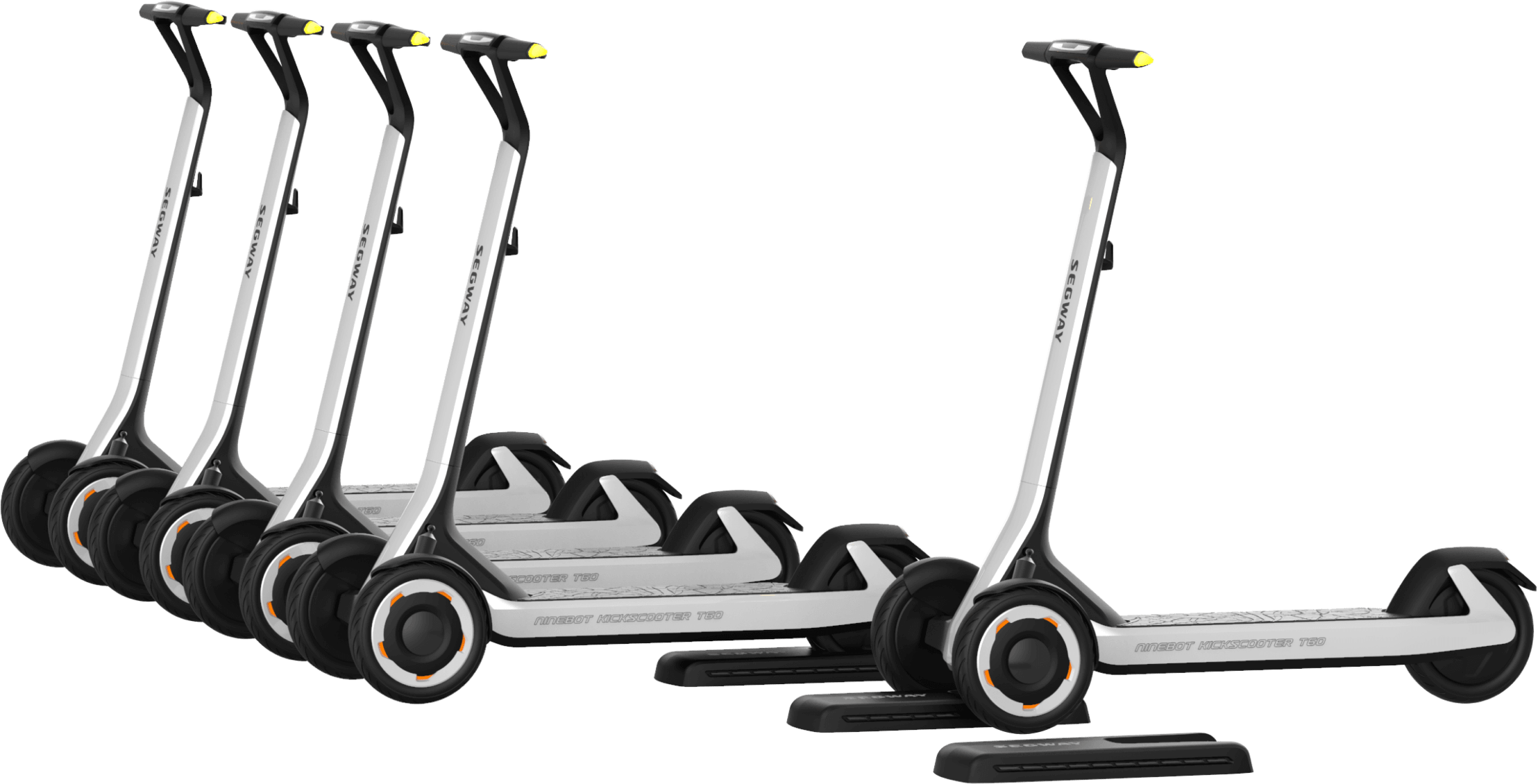 Подробности об устройстве и функциях электросамоката KickScooter T60 - 1