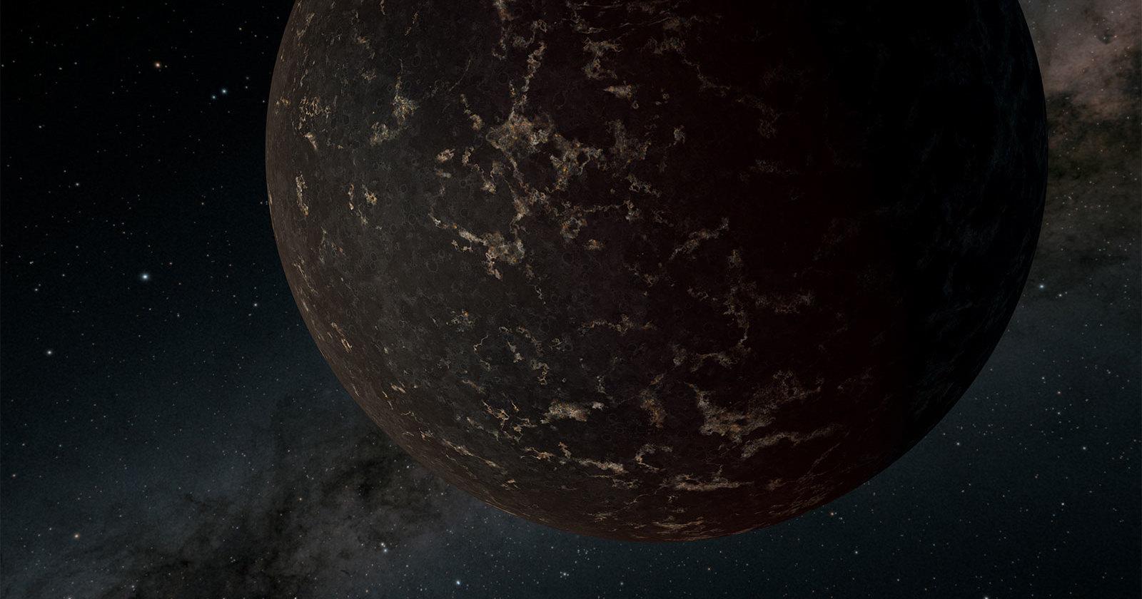 Получены данные о поверхности каменистой экзопланеты недалеко от нас