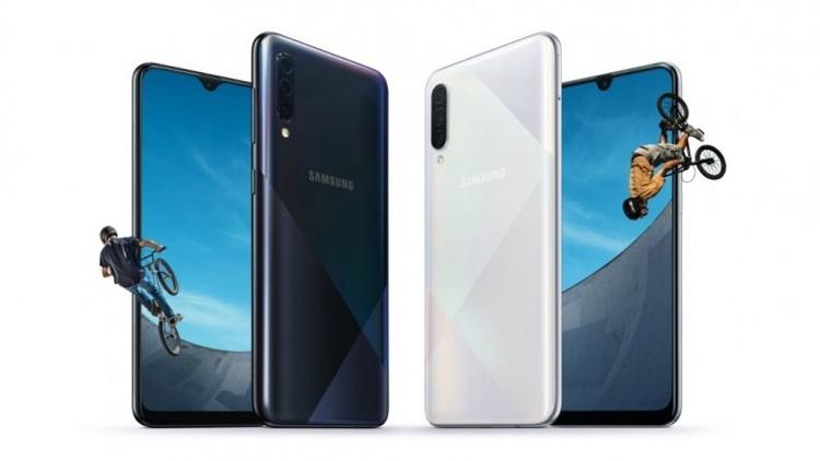 Samsung Galaxy A50s и A30s: смартфоны с тройной камерой и 6,4″ дисплеем