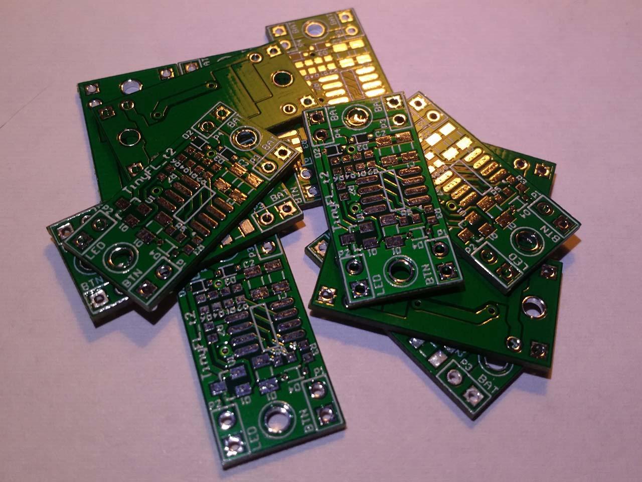 TinyFL — драйвер фонарика на микроконтроллере - 15