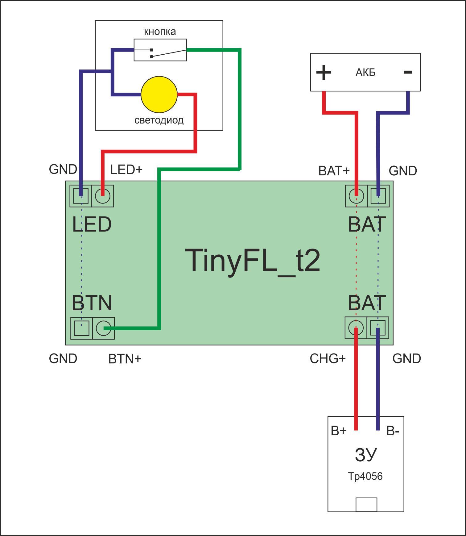 TinyFL — драйвер фонарика на микроконтроллере - 17