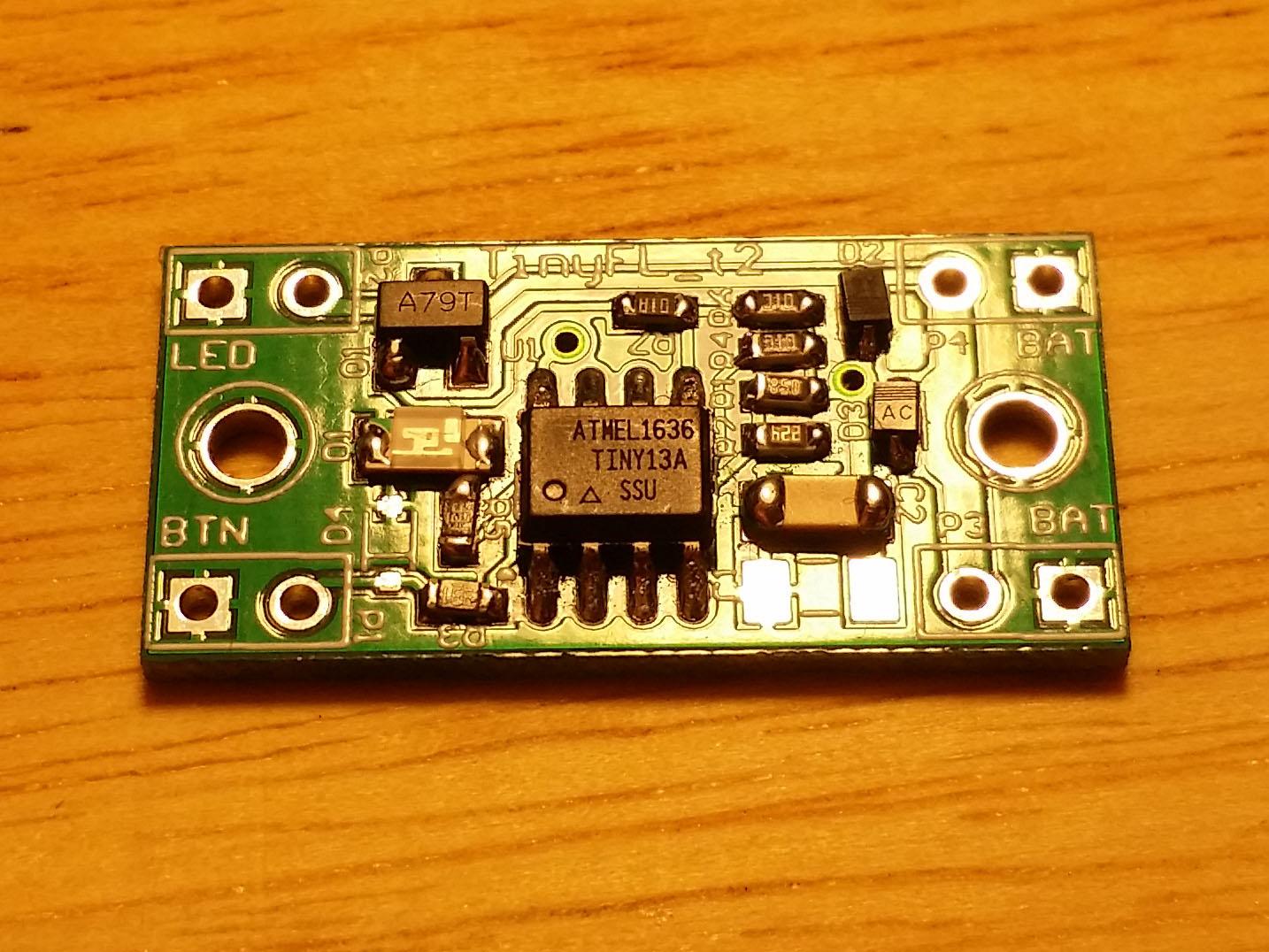 TinyFL — драйвер фонарика на микроконтроллере - 19