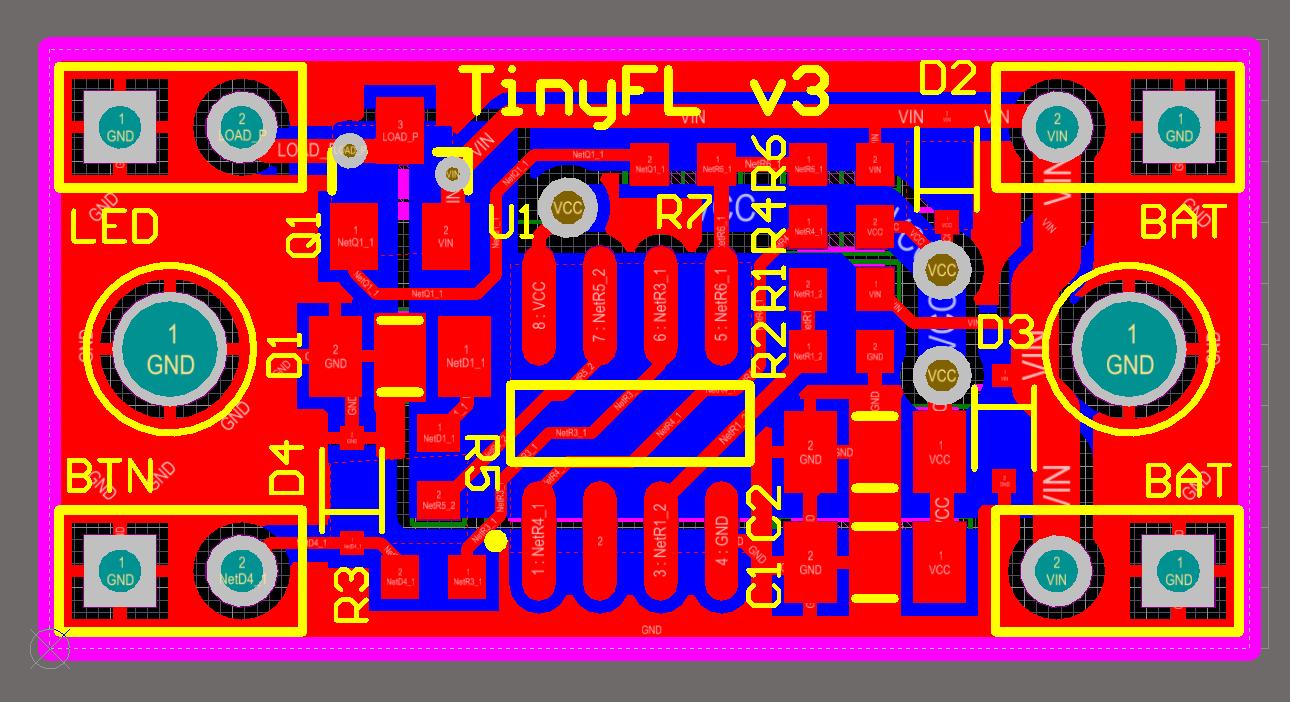 TinyFL — драйвер фонарика на микроконтроллере - 6