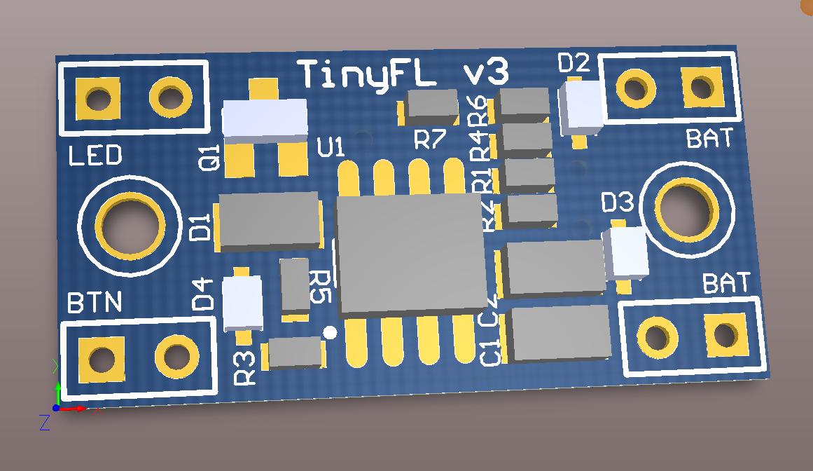 TinyFL — драйвер фонарика на микроконтроллере - 7