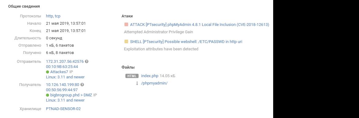 Итоги кибербитвы The Standoff, или Как PT Expert Security Center следил за атакующими - 14