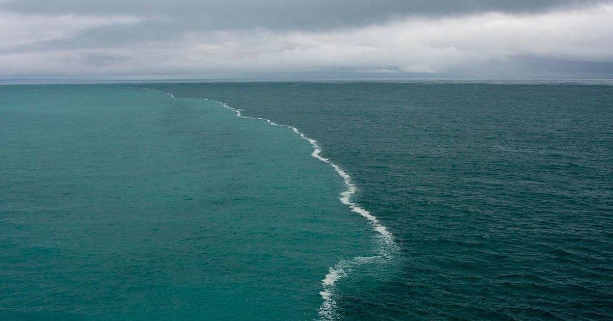 Как встречаются моря