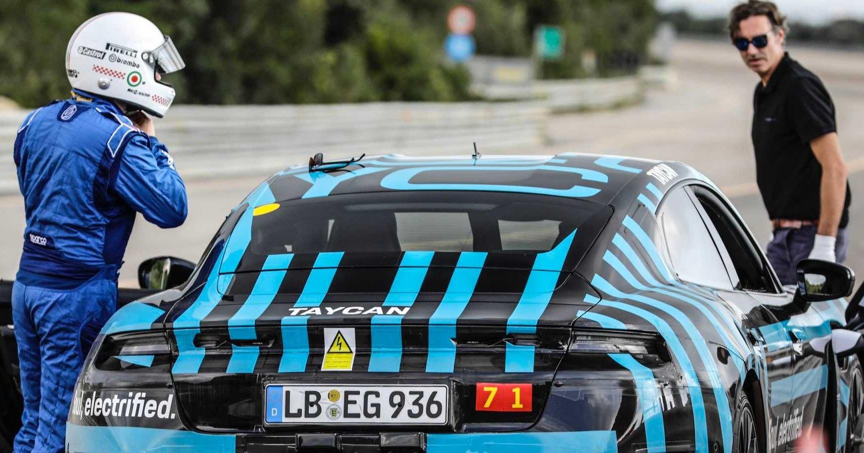 Первый электромобиль Porsche проехал 3 425 км за сутки