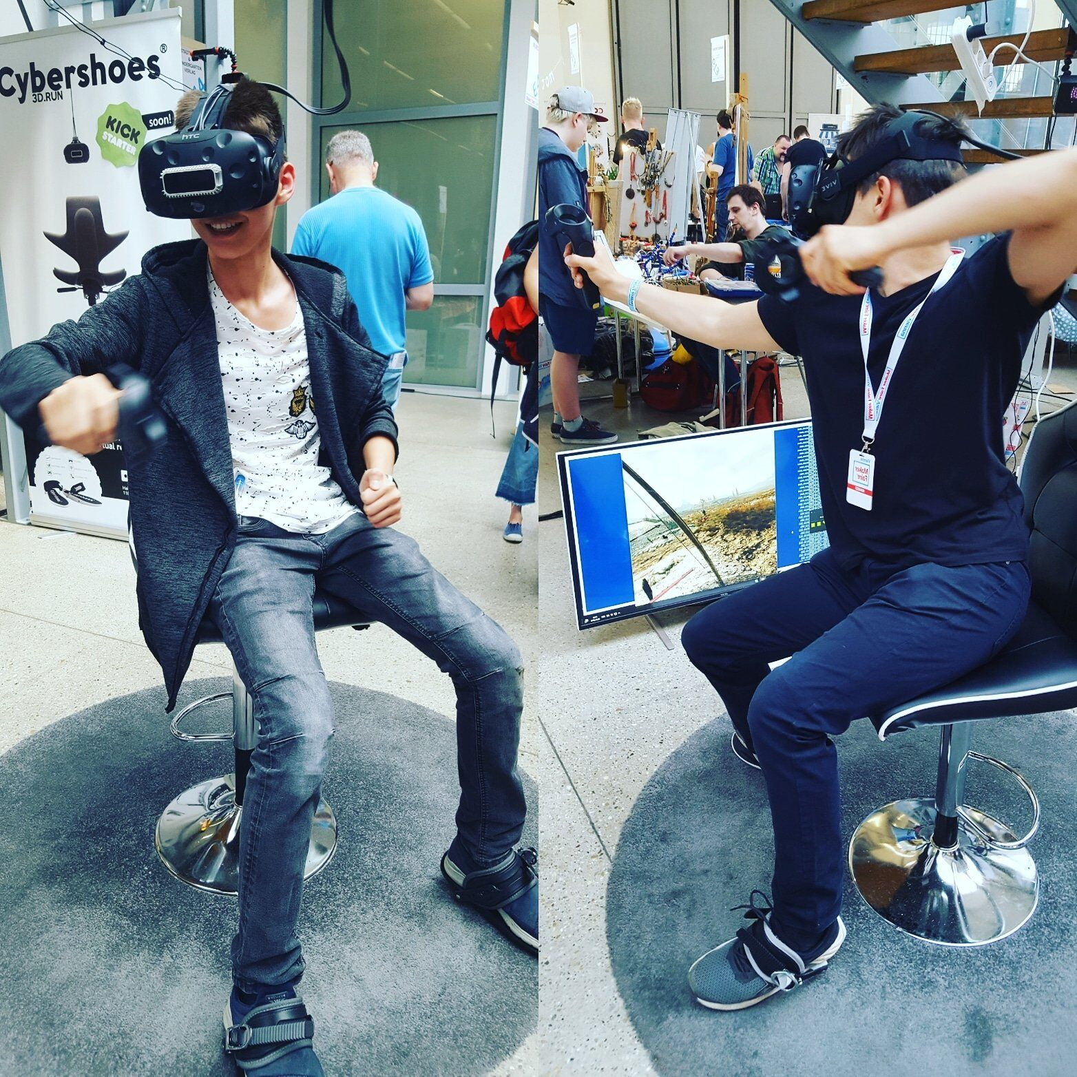 Созданы кибер-тапочки для бега в виртуальной реальности - 10