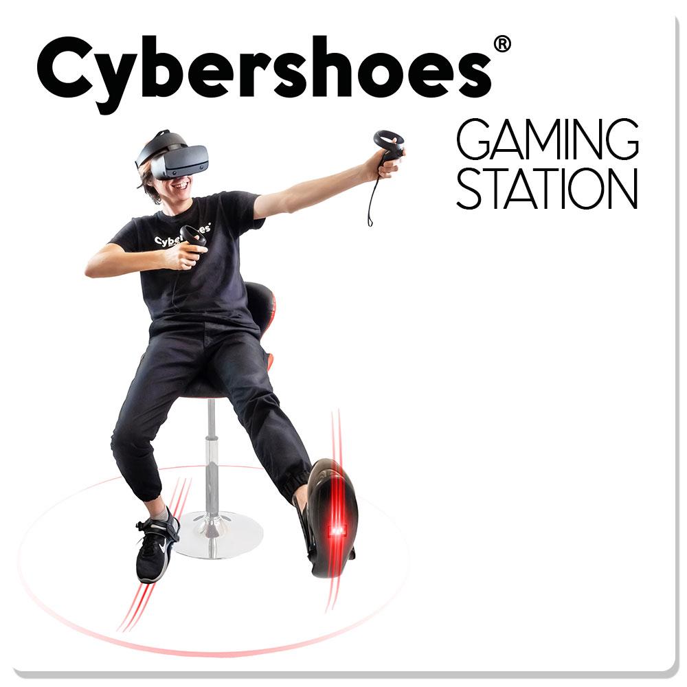 Созданы кибер-тапочки для бега в виртуальной реальности - 11