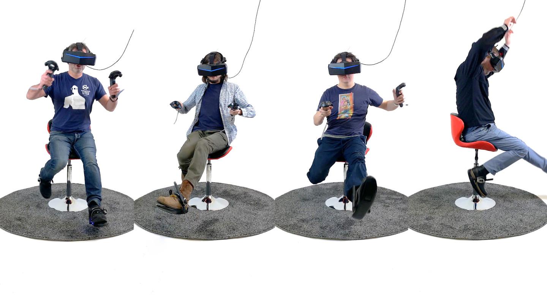 Созданы кибер-тапочки для бега в виртуальной реальности - 2