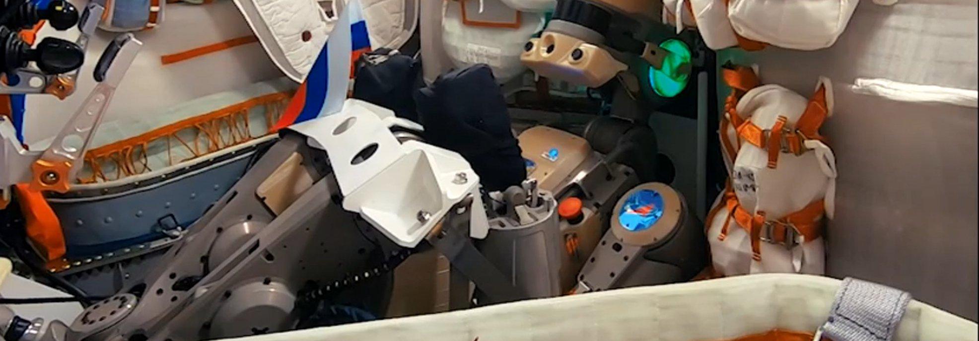 Успешно запущен на орбиту корабль «Союз МС-14» с роботом FEDOR (Skybot F-850) - 2