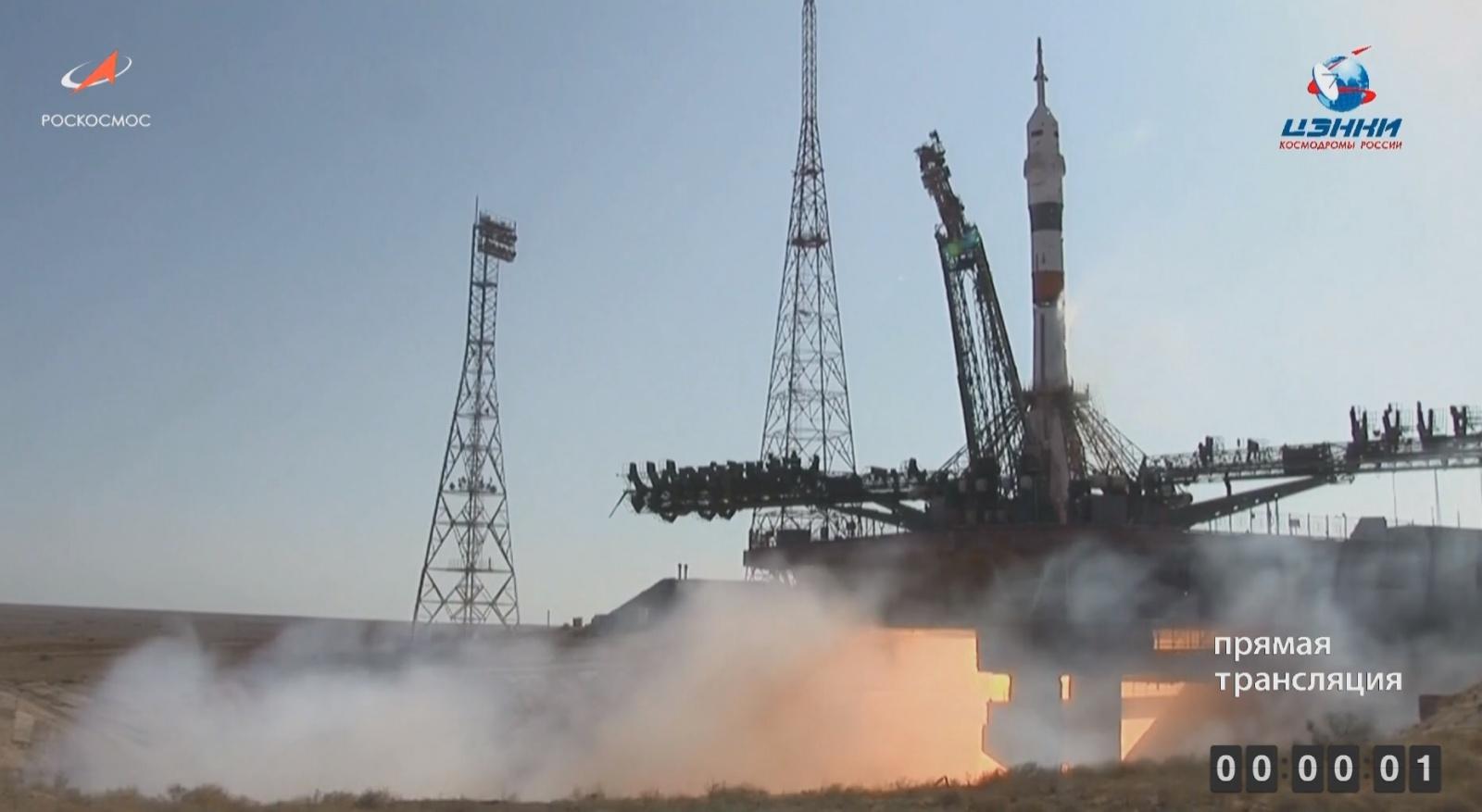 Успешно запущен на орбиту корабль «Союз МС-14» с роботом FEDOR (Skybot F-850) - 3