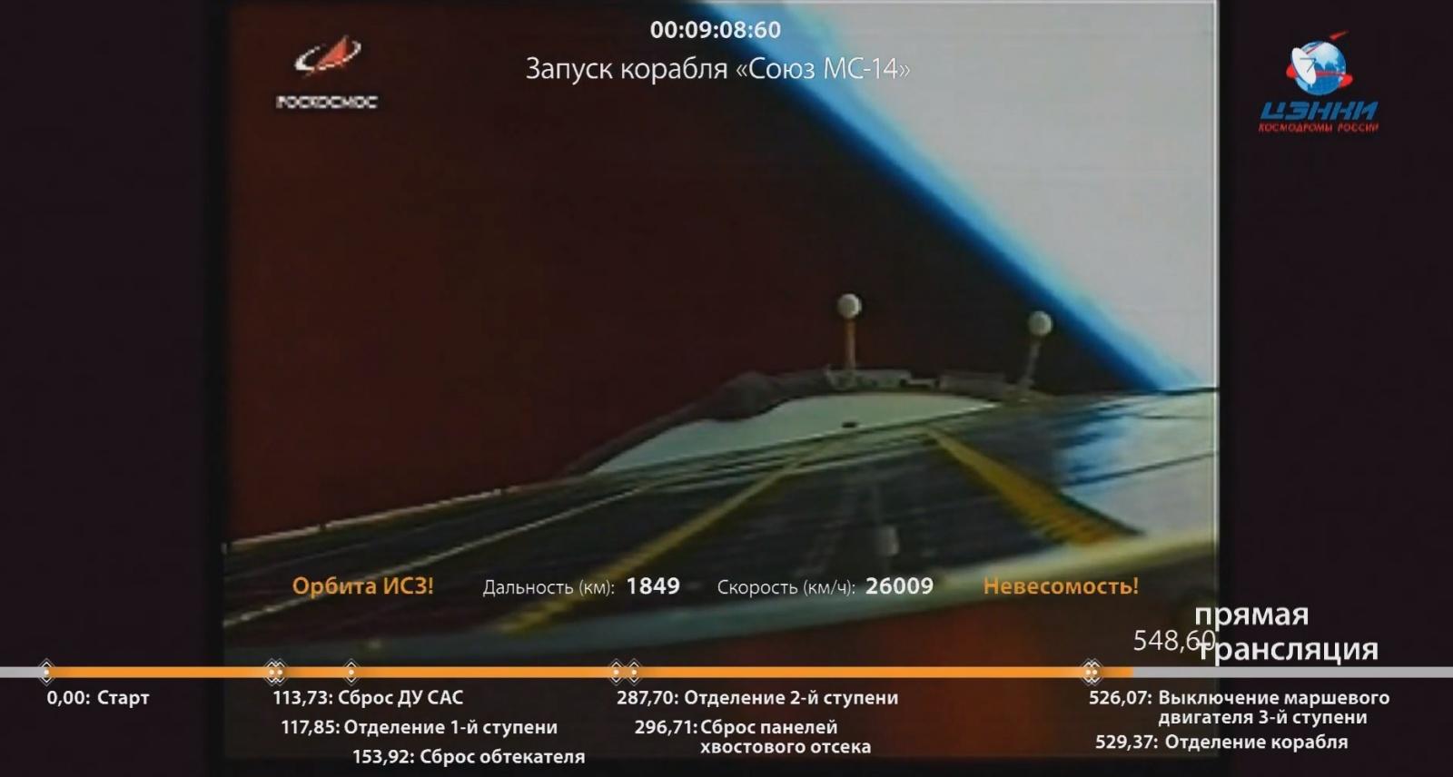 Успешно запущен на орбиту корабль «Союз МС-14» с роботом FEDOR (Skybot F-850) - 4