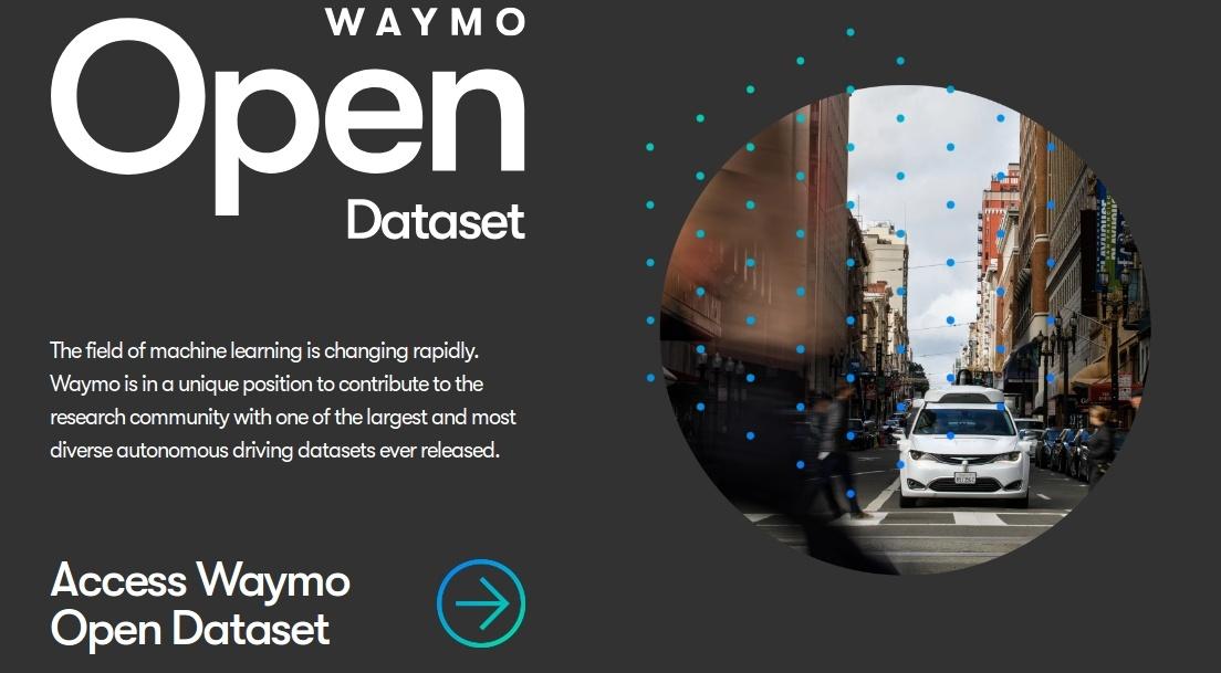 Waymo открыла доступ к большому датасету для обучения беспилотных автомобилей - 1