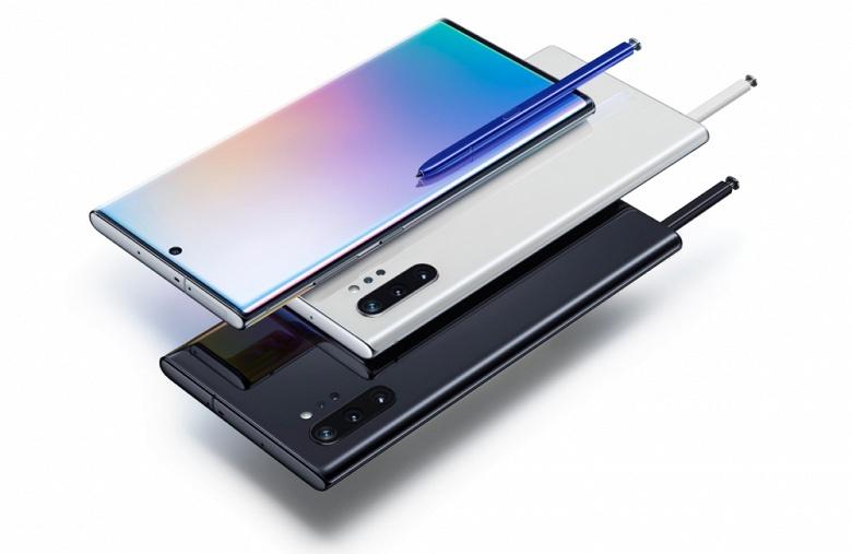Флагманские смартфоны Samsung Galaxy Note10 и Note10+ выходят в России